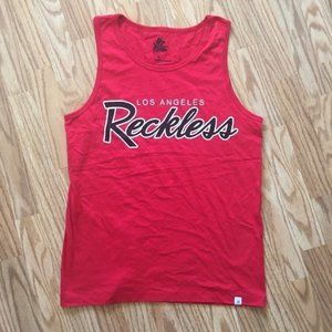 NEW YOUNG & RECKLESS TANK TOP T-SHIRT SZ LARGE